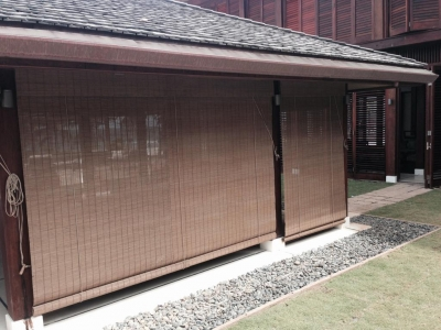 bamboo curtains and blinds